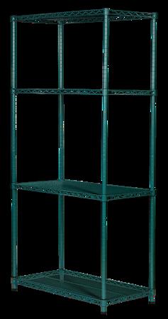 Regał noMICRO 4-półki (46x122x182cm)